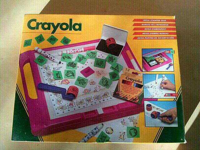 Juego estampación Crayola de segunda mano por 6 € en Piera - wallapop