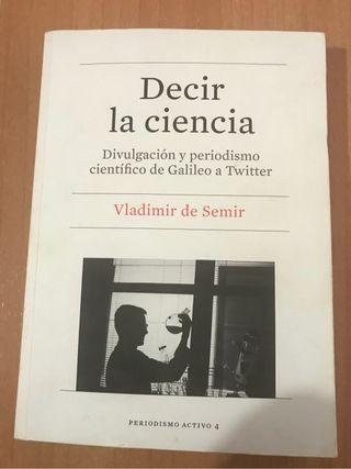 Libro Decir la ciencia