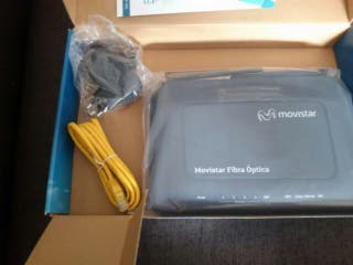 MOVISTAR Comtrend Router Fibra Optica