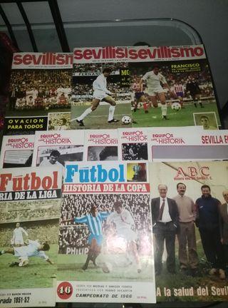 revista antigua de futbol 1951-52,1966...