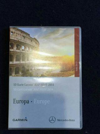mercedes benz sd card Garmin map pilot 2014 europe