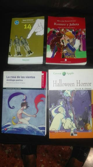 libros de lectura de ESO