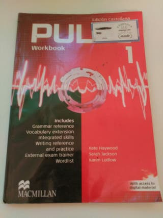 Libro de texto Pulse Workbook 1, 2 y 3