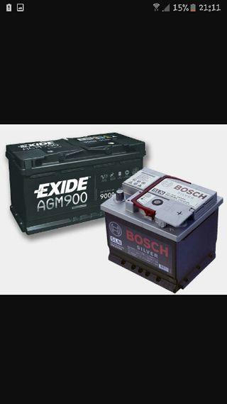 recogo bateria a domicilio