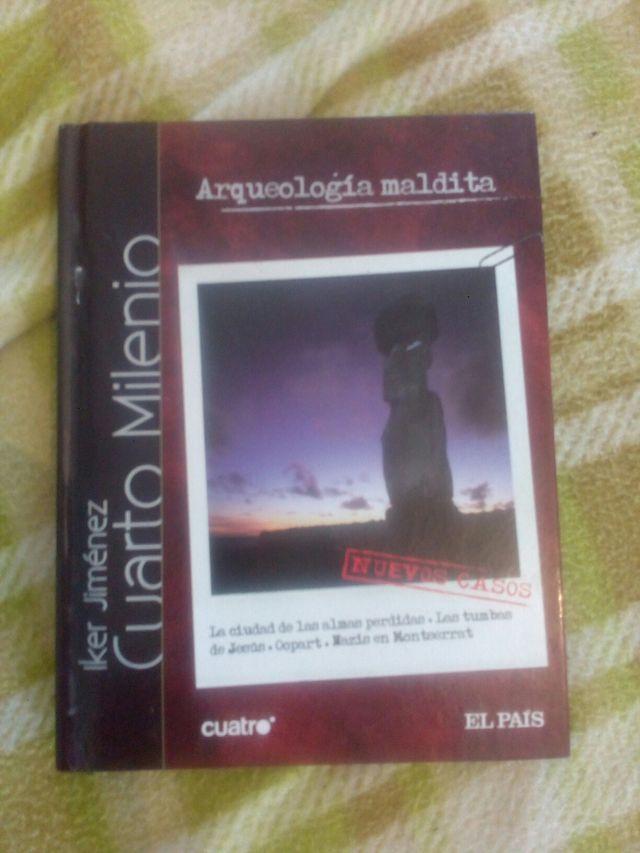 Libro y dvd cuarto milenio de segunda mano por 2 € en Loma de Cuenca ...