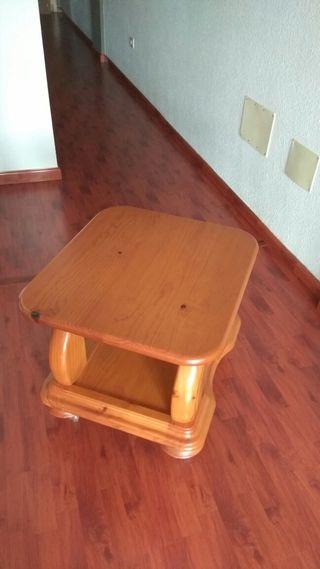 mesa 100% madera maciza rustica