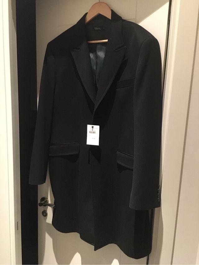 Abrigo hombre tres cuartos lana vestir de segunda mano por 60 € en ...