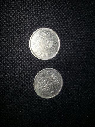 Monedas 5 pesetas