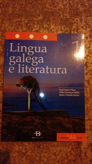 Libro Lingua primero de la ESO