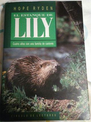 libro, el estanque de lily