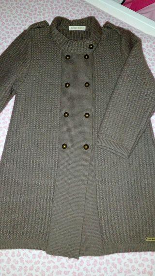abrigo Cesar Blanco talla 4