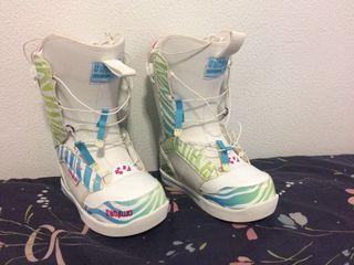 Botas snowboard chica