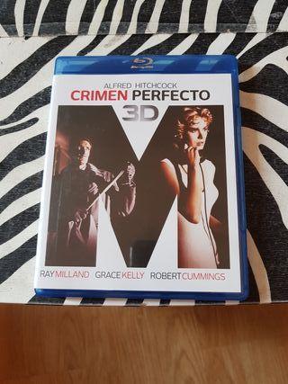 crimen perfecto 3D blu-ray
