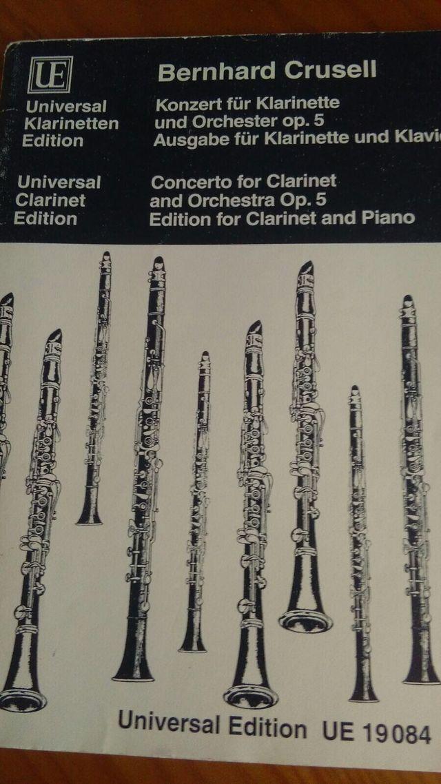 Partitura clarinete