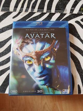 avatar edicion limitada 3D blu-ray