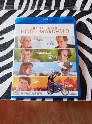 el exotico hotel marigold blu-ray