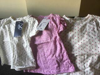 Mono vaquero y camisetas bebé