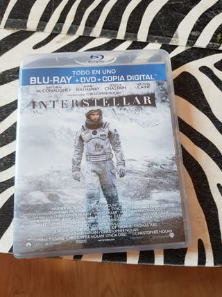 interestellar blu-ray y DVD