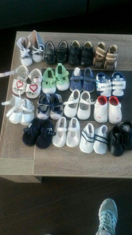 zapatos bebe niño y niña varias tallas