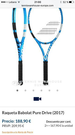 Babolat Pure Drive 2017 racket