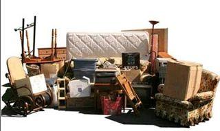 Vaciado de pisos y casas material voluminoso