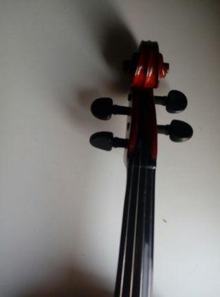 Viola 41 cm de luthier, Lark. Construcción moderna segunda mano  España