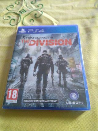 The Division. Nuevo. ps4