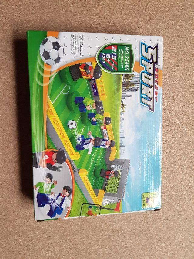 juego de construccion futbol con figuras