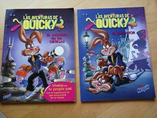 Las aventuras de Quicky - comic, tebeo