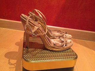 Zapatos Zara Zapatos Zara Tacon De Tacon Piel De De Piel Zapatos 4qZXn4HArw