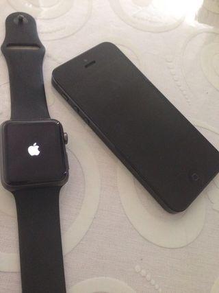 iPhone 5 et apple watch 42 mm