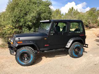 Jeep Wrangler totalment restaurado
