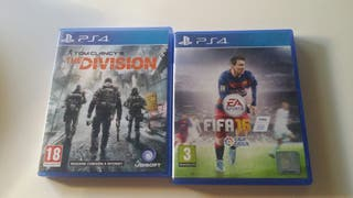 Fifa 16 + Tom Clancy's: The Division - PS4