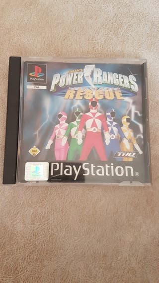 Power Rangers lightspeed rescue PS2