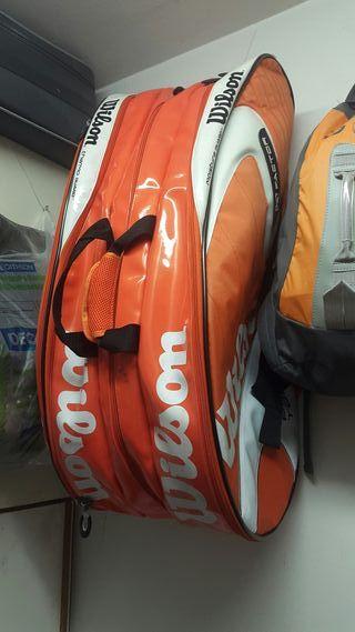 bolsa grande wilson para tenistas