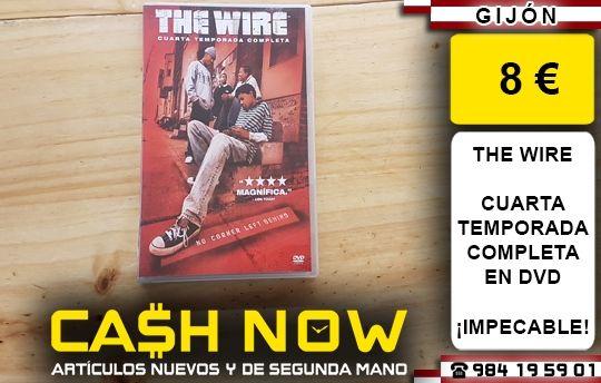 THE WIRE CUARTA TEMPORADA DVD de segunda mano por 8 € en Gijón en ...