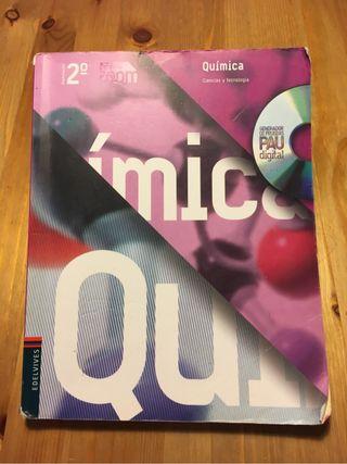 Libro 2 Bachillerato Química editorial Edelvives