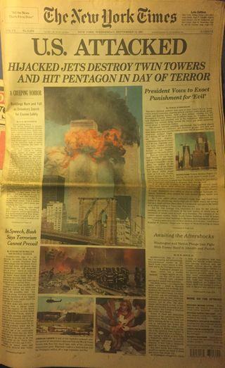 Torres Gemelas NYC 12/09/2001