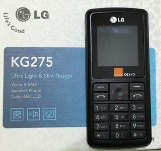 Movil LG KG275 nuevo