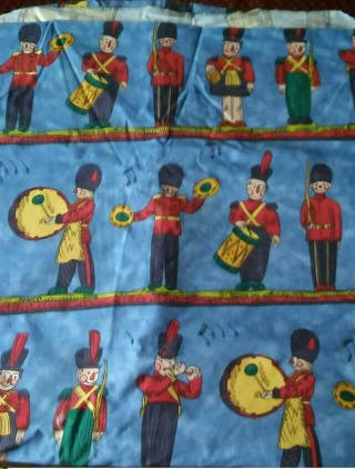 Toy soldiers Fabric by John Wilman