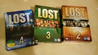 serie LOST 2 3 y 4