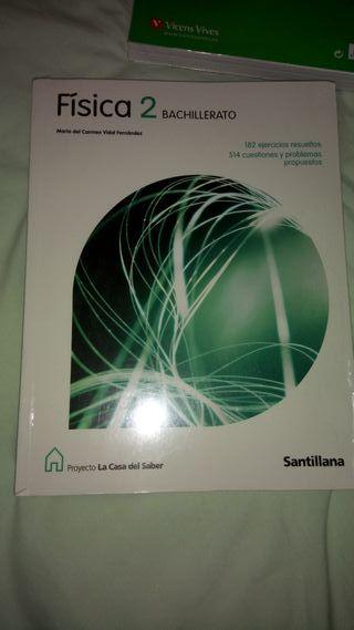 Libro Física 2 Bachillerato Santillana NUEVO