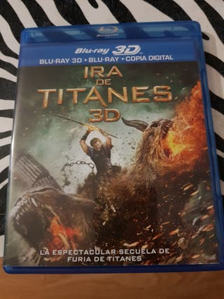 ira de titanes 3d y blu-ray