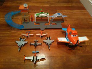 "Aviones ""planet"" originales Disney"