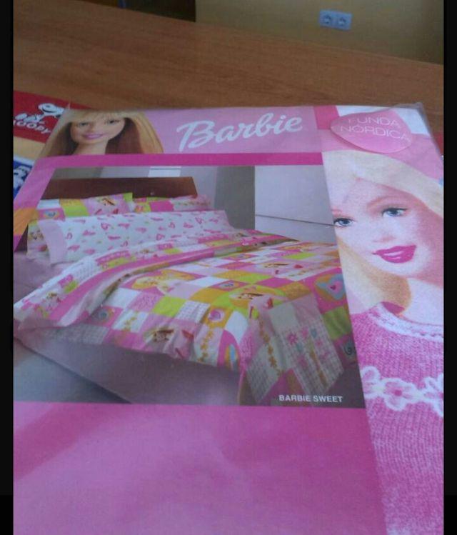 Funda nordica barbie de segunda mano por 25 € en Mataró   wallapop