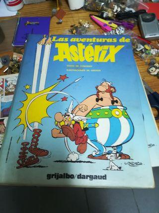 colección libros axterix y obelix 7 tomos