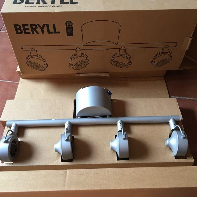 Foco techo Beryll IKEA