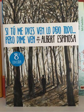 Libro Albert Espinosa