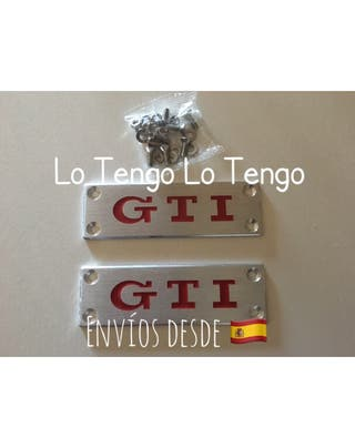 Set Placas Metal Alfombrillas GTI