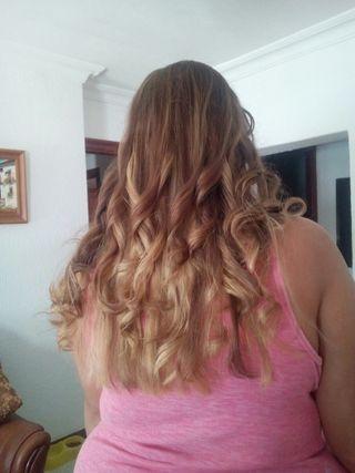 mechas balage + corte + peinado x solo 30€